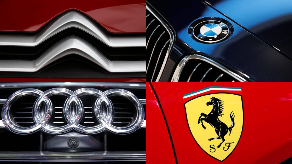 Logotipos y nombres de las marcas de coches: sus significados (de la A a la F)