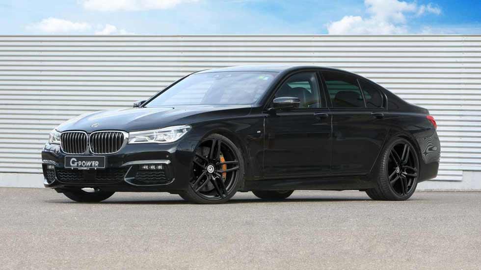 BMW Serie 7 Diesel por G-Power: ¡tan rápido como un M3!