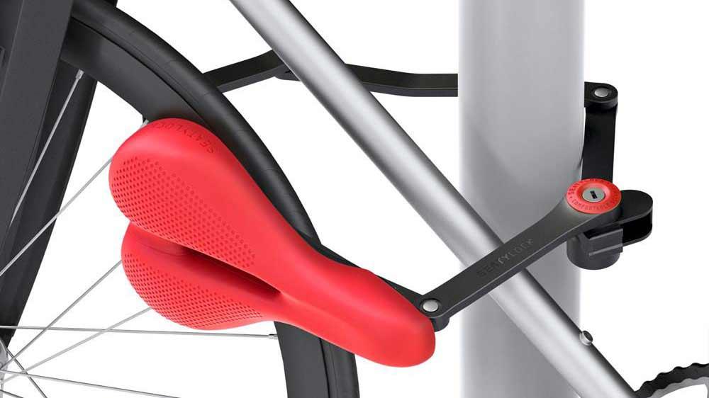 Lo último para evitar el robo de tu bici: ¡un sillín que se convierte en candado!