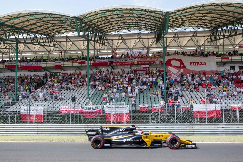 Test de F1 en Hungaroring: Vettel primero y Kubica cuarto