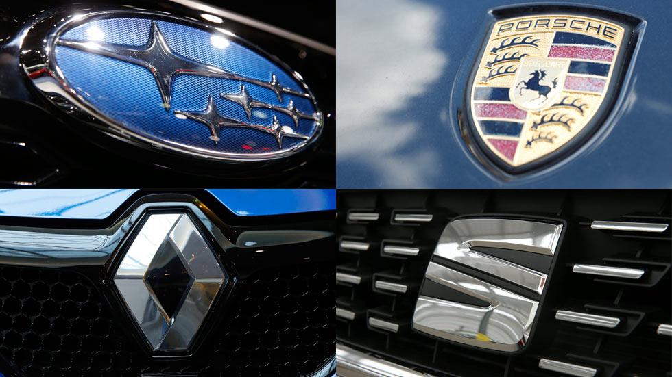 Logotipos y nombres de las marcas de coches: sus significados (de la P a la V)