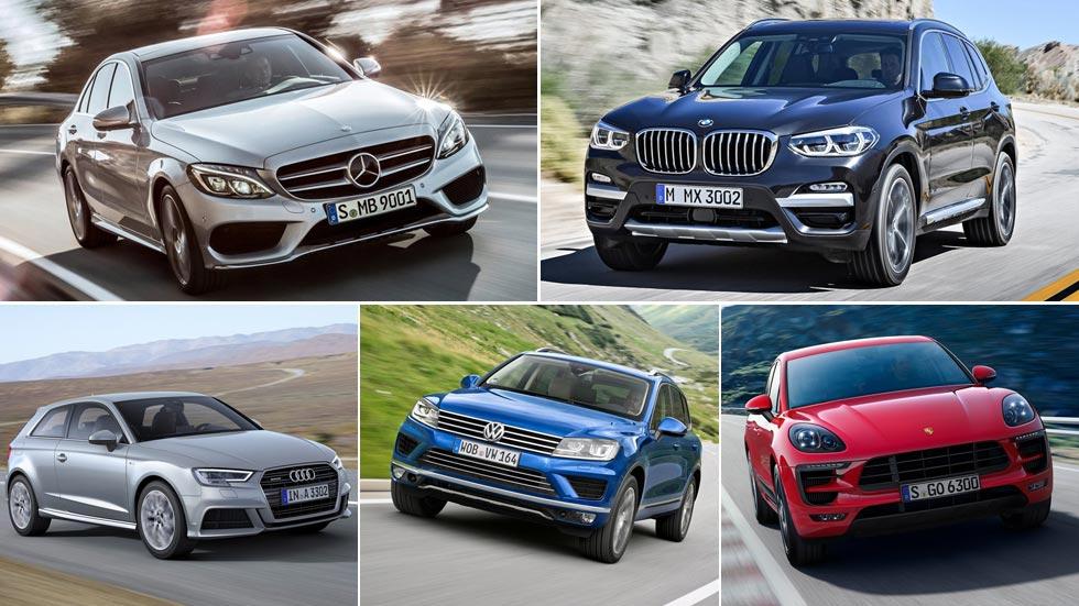 Las marcas de coches con mejor precio de reventa