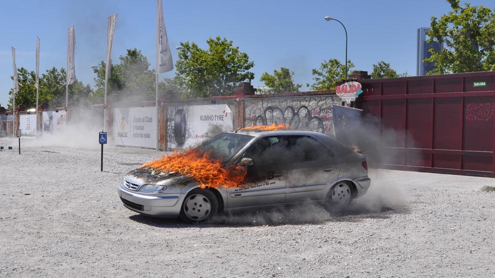 Vídeo: así se recreó una escena de Fast & Furious 8 en Madrid