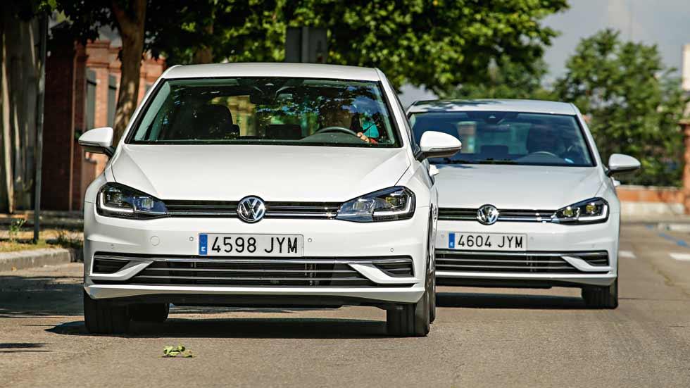 Volkswagen Golf 1.6 TDI vs Golf 1.0 TSI. ¿Diesel o gasolina?