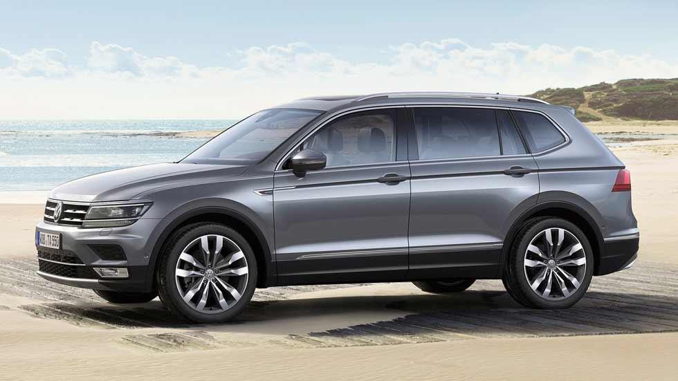 VW Tiguan Allspace: primeros precios del nuevo SUV de 7 plazas