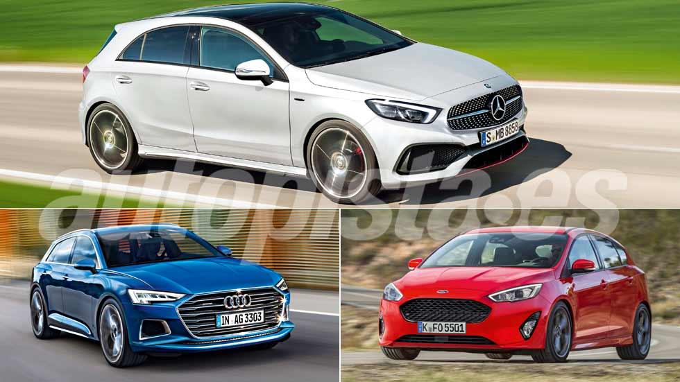 Revista Autopista 3018: así serán los nuevos Audi A3, Focus, Clase A...