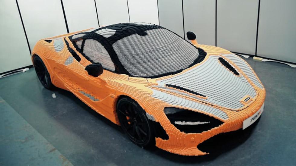 Así se construye un McLaren 720S con piezas de Lego (vídeo)