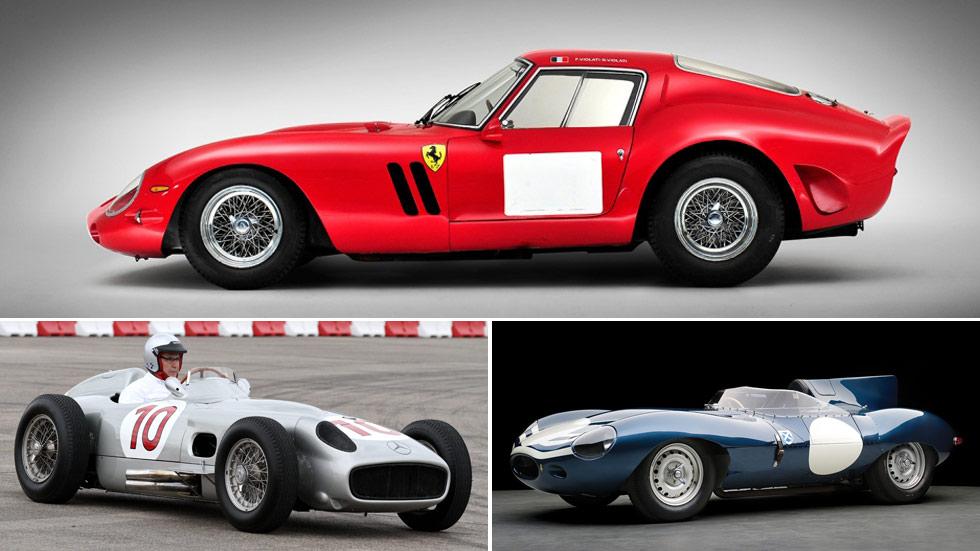 Probablemente, los 10 coches clásicos más caros de la historia