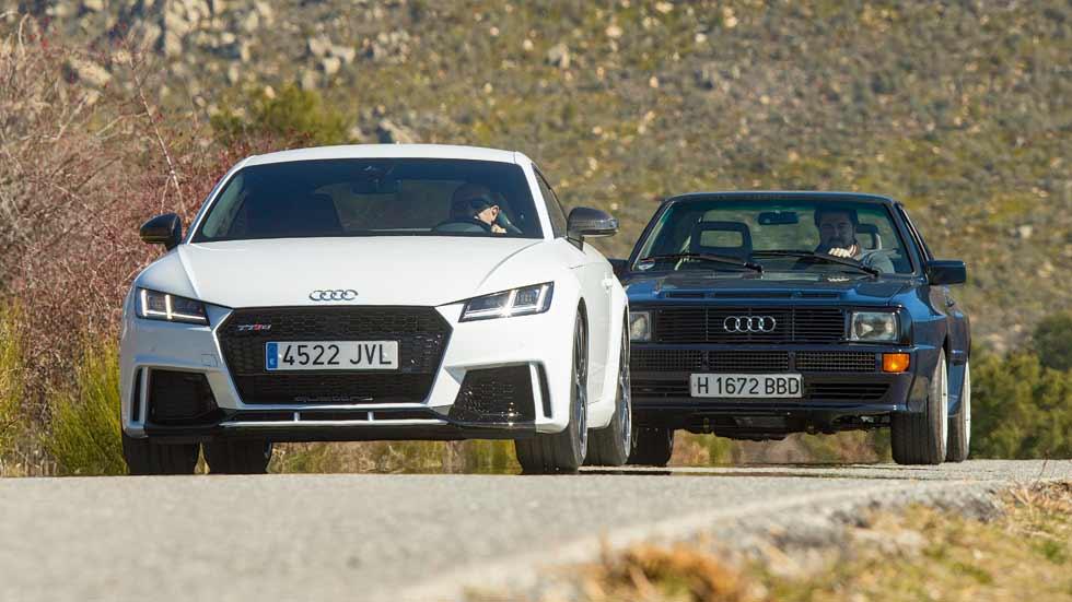 Audi TT RS vs Audi Sport Quattro: moderno o clásico, tú eliges