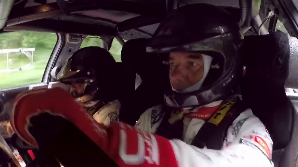 Loeb vuelve a subirse a un coche del Mundial de Rallyes con Citroën (vídeo)