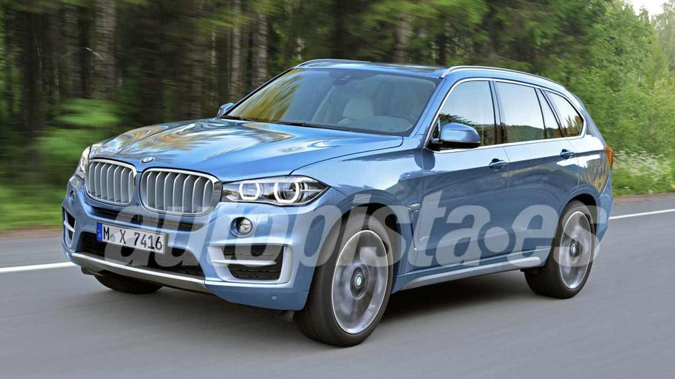 BMW X7: el SUV mayor que X5 y X6, más cerca