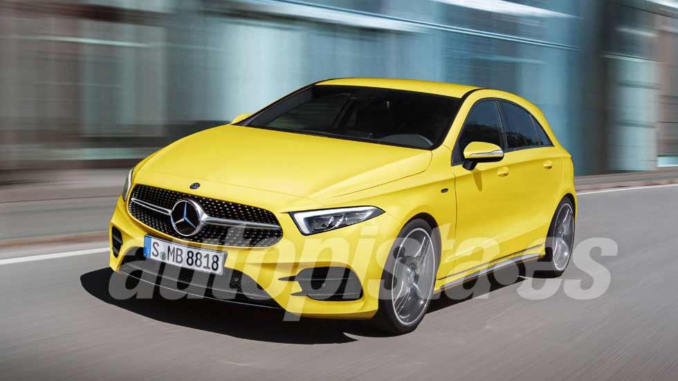 Mercedes Clase A 2018 El Nuevo Compacto M 225 S Cerca