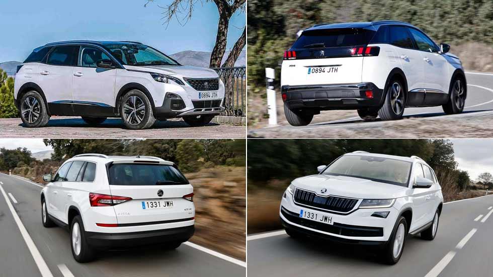 El Peugeot 3008 y el Skoda Kodiaq, los SUV con mejor diseño de 2017