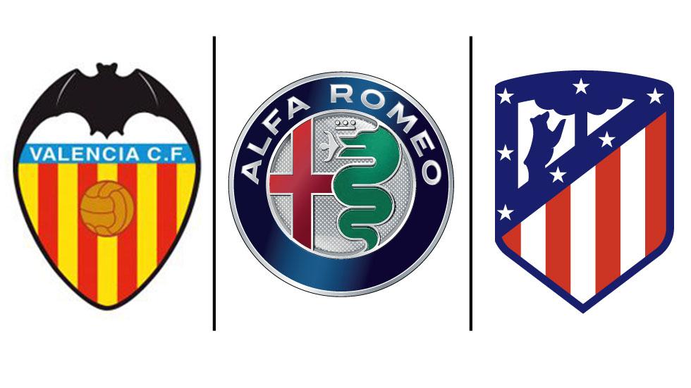 Alfa Romeo, el nuevo coche oficial del Atlético de Madrid y del Valencia