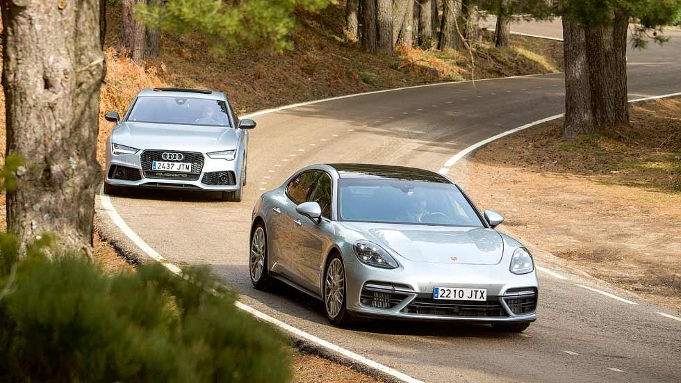 Audi RS7 Sportback vs Porsche Panamera Turbo, ¿cuál es mejor?