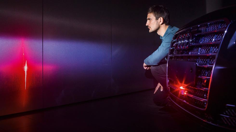 Audi A8 2018 y su escáner láser, un coche casi de ciencia ficción (vídeo)
