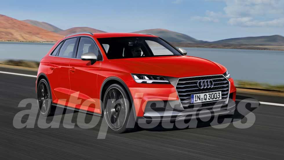 Audi Q3 2018: el nuevo SUV se pone a punto