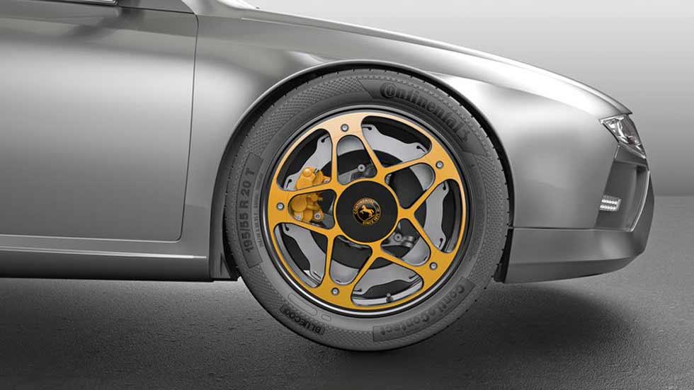New Wheel, el nuevo sistema de frenado para los coches eléctricos