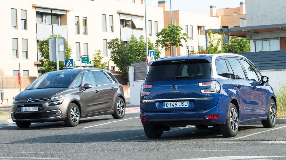 Citroën C4 Picasso 1.2 PureTech 130 vs Grand C4 Picasso 1.6 THP 165: ¿cuál es mejor?