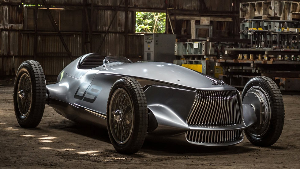Infiniti prototype 9 concept un cl sico del pasado y for Futuro del classico