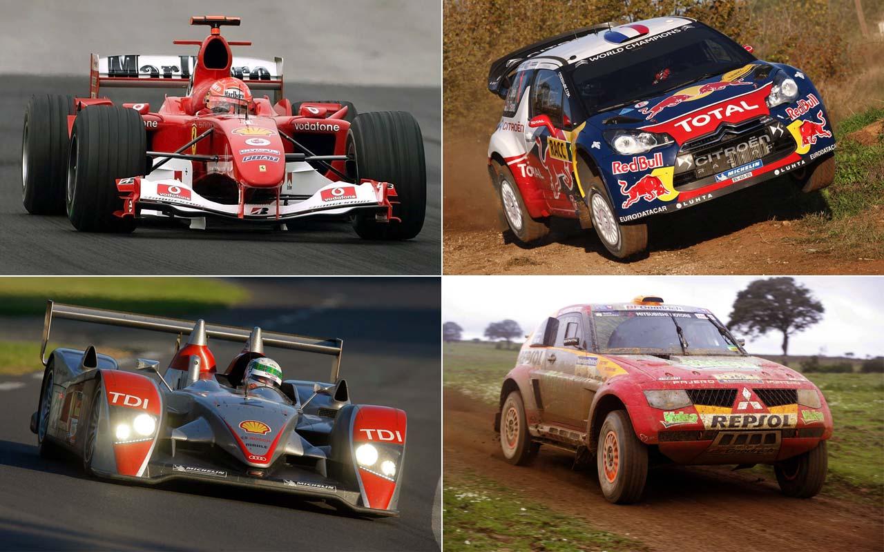 Los coches dominadores del deporte: haciendo historia