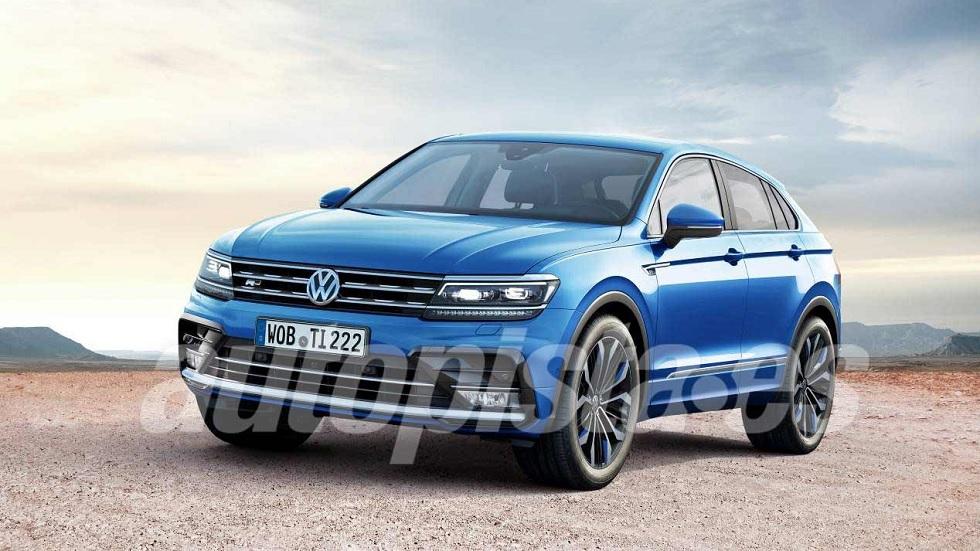 VW Tiguan Coupé 2018: más datos y fotos del nuevo SUV