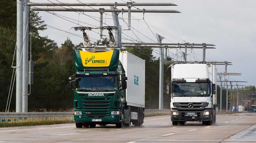 Luz verde a la primera autopista para camiones eléctricos