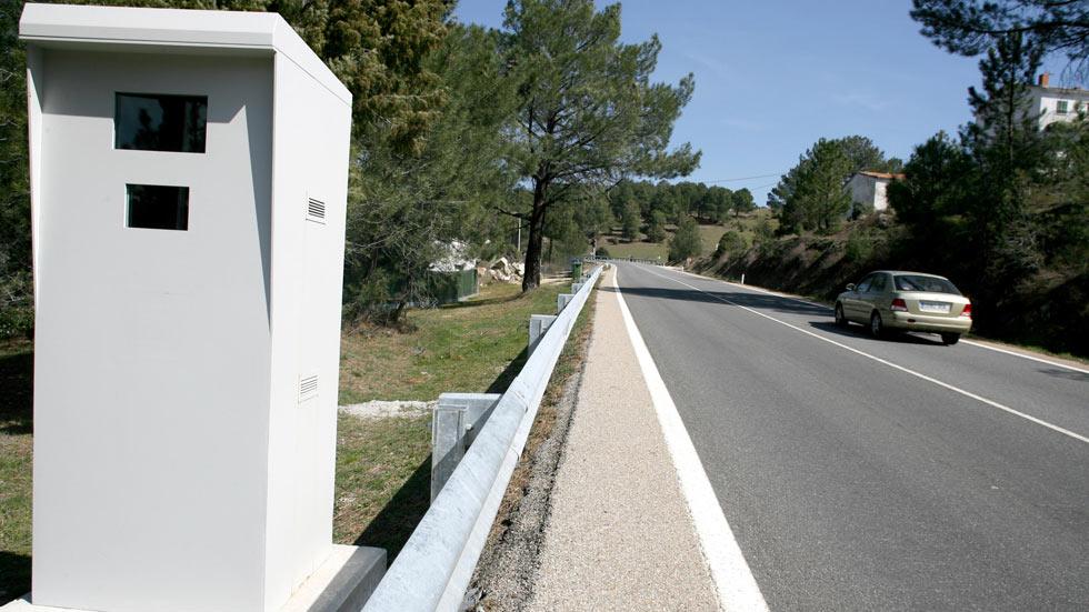 Los radares fijos que más multan en España son...