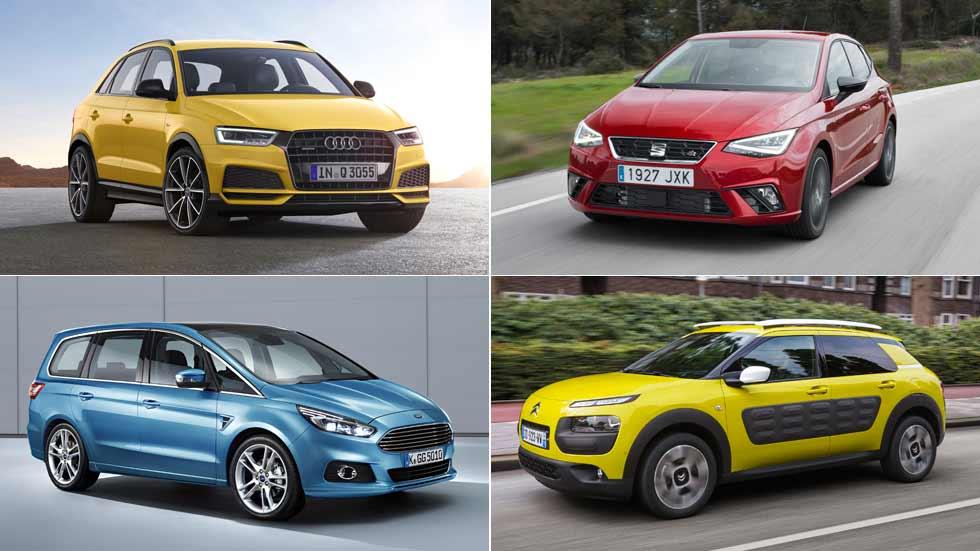 Estos son los coches que fabrica España en exclusiva para todo el mundo