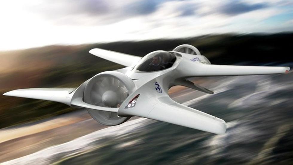El DeLorean DR-7 volador, listo en 2018