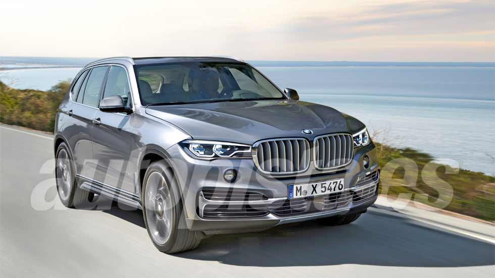 BMW X5 y BMW X7: nuevos SUV en 2018 (más datos y fotos)