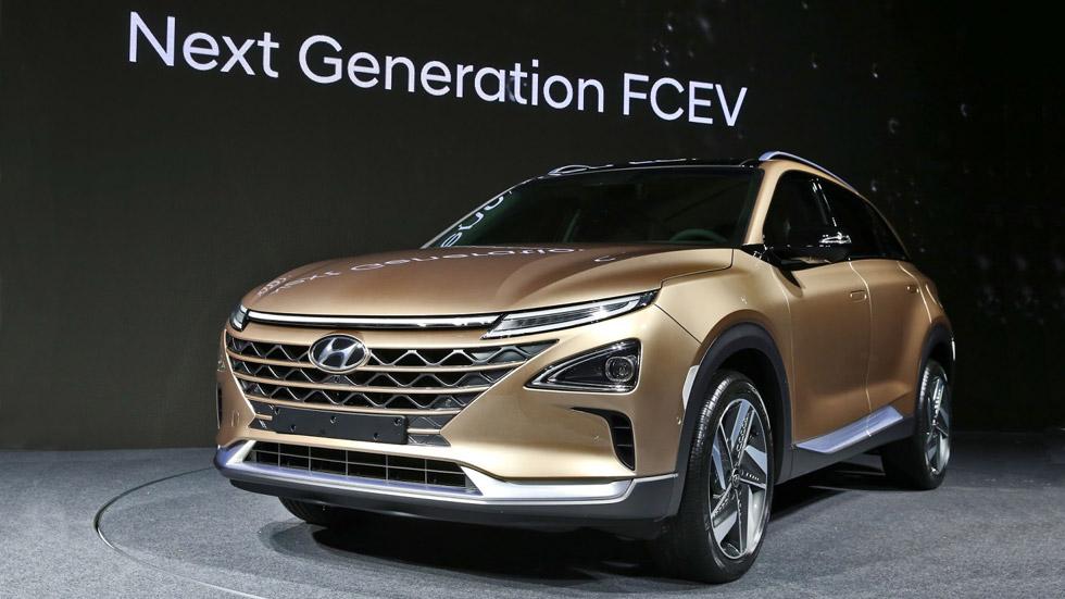 El futuro SUV Hyundai Tucson, ¿con pila de combustible de hidrógeno?