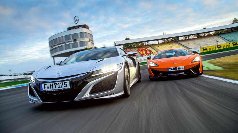 Honda NSX y McLaren 570S, ¿qué deportivo es mejor?