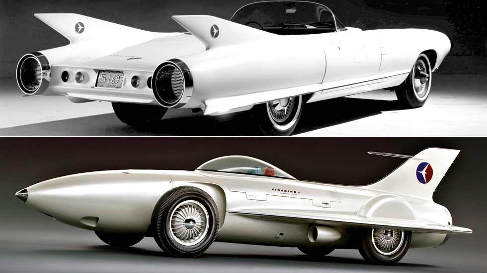 Así eran los increíbles coches del pasado que miraban al futuro