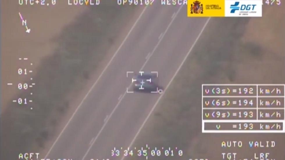 Nueva campaña de velocidad de la DGT y las últimas pilladas (vídeo)