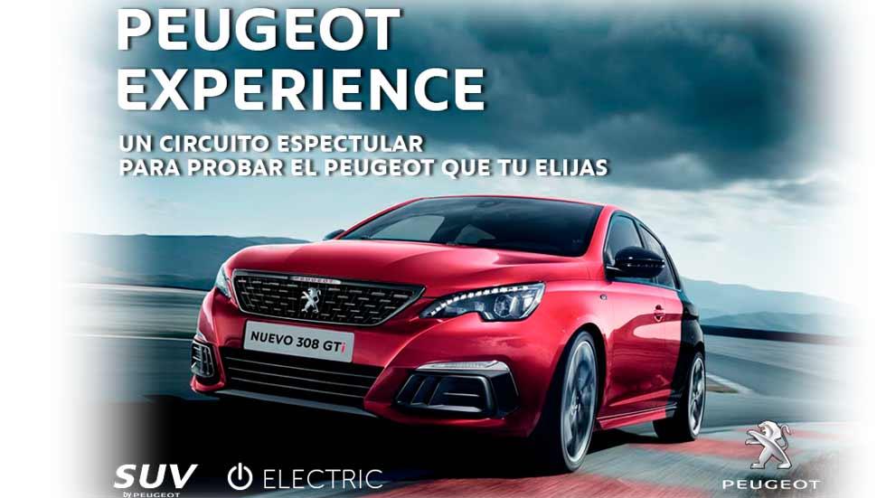 Prueba gratis en CIRCUITO el nuevo Peugeot 308 y los SUV 3008, 5008...