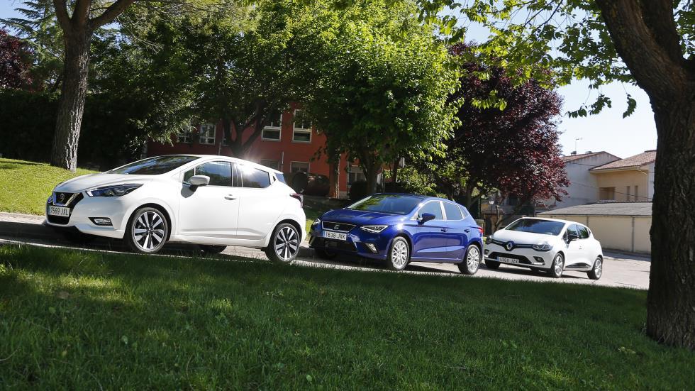 Seat Ibiza TSI, Renault Clio TCE y Nissan Micra IG-T: ¿cuál es mejor?