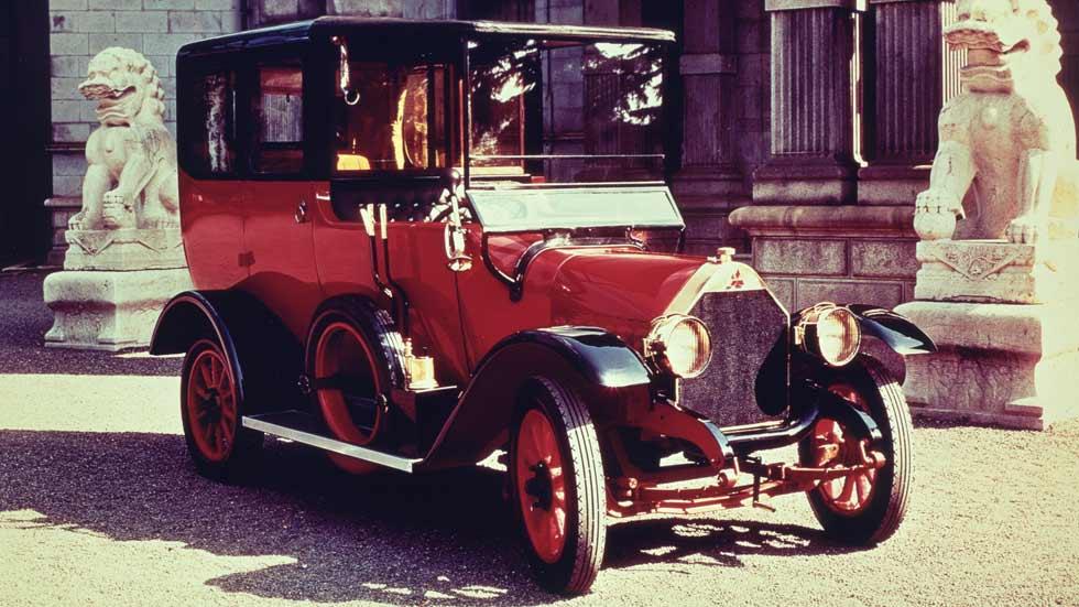 El primer coche de Mitsubishi cumple 100 años: el Model A