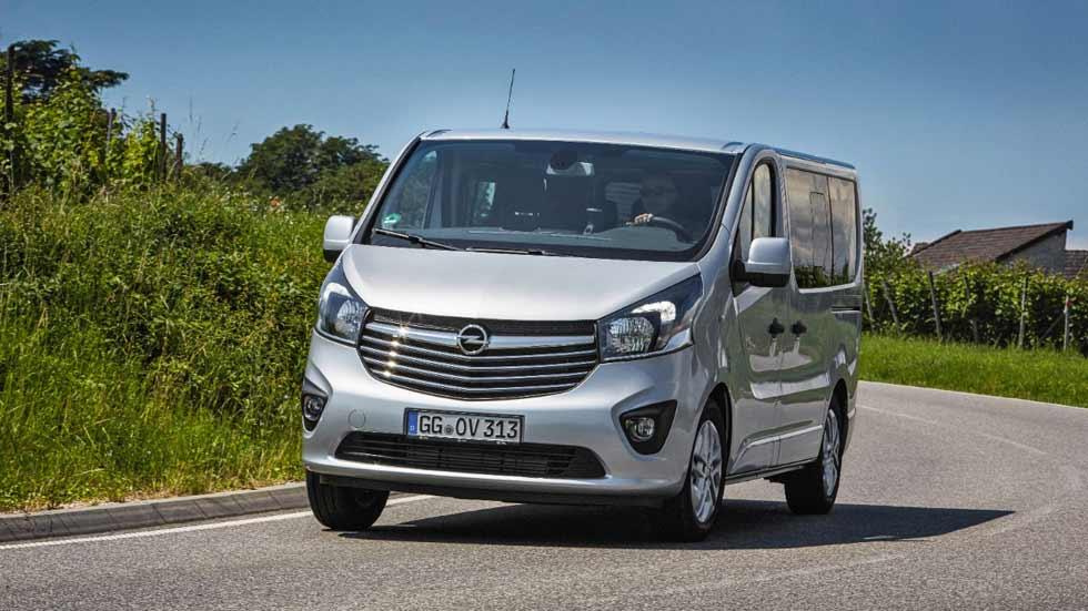 Nuevos Opel Vivaro Tourer y Combi Plus: estreno en el Salón de Frankfurt