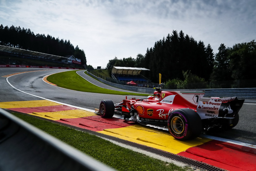 GP de Bélgica: vuelta de récord para Kimi Raikkonen