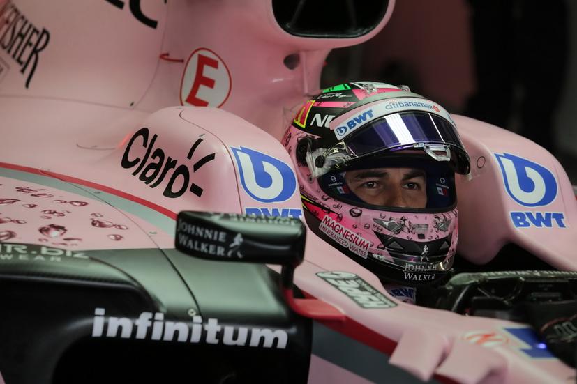 GP de Bélgica: Pérez se calificó octavo