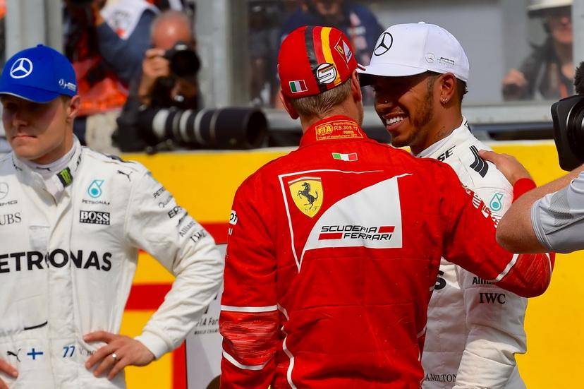GP de Bélgica: la parrilla de salida