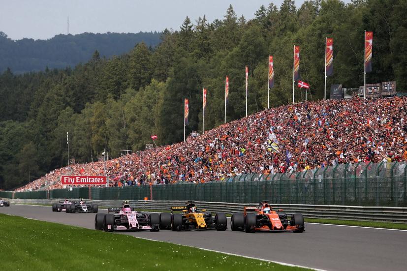 GP de Bélgica: abandono de Alonso por pérdida de potencia