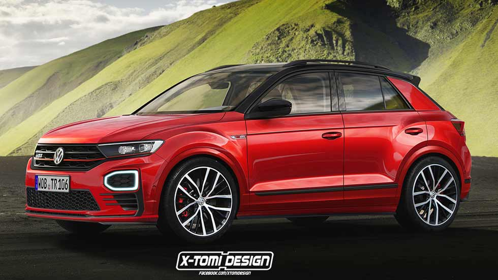 vw t roc gti y t roc r as podr an ser los nuevos suv deportivos. Black Bedroom Furniture Sets. Home Design Ideas