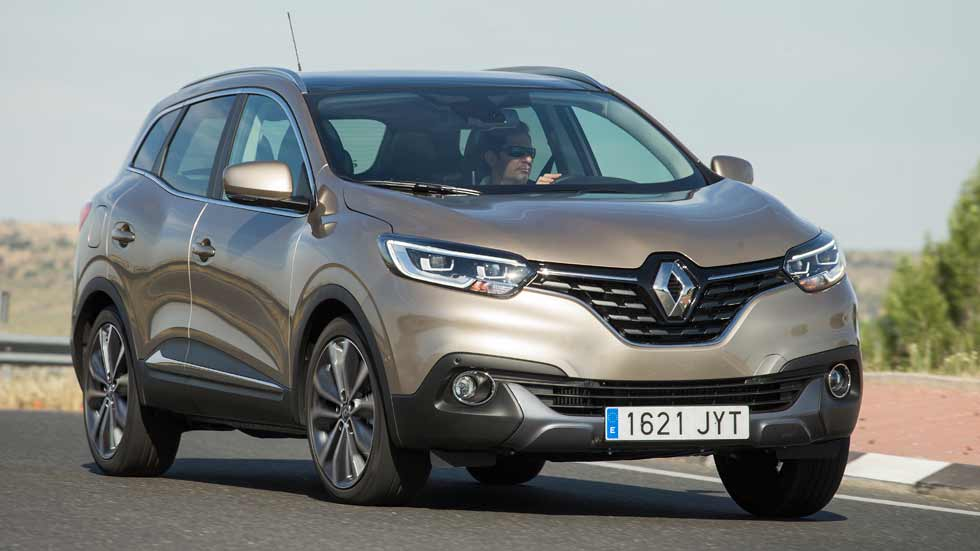 renault kadjar 1 6 tce 165 cv a prueba el hermano suv del qashqai. Black Bedroom Furniture Sets. Home Design Ideas