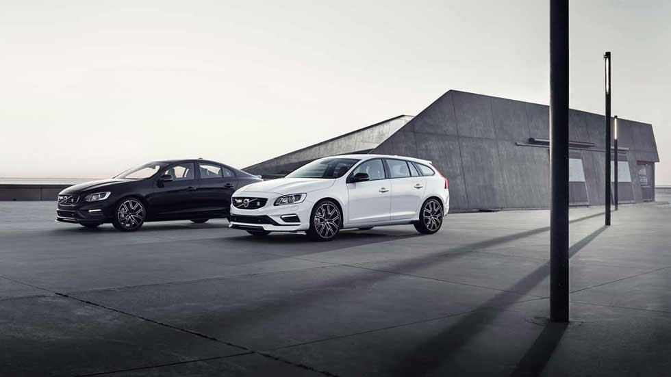 Volvo S60 y V60 Polestar 2018: aún más aerodinámicos y eficientes