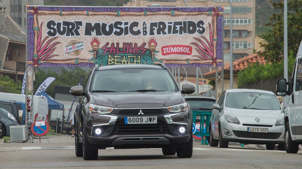 Mitsubishi ASX: de ruta al Festival de surf y música en Asturias (vídeo)