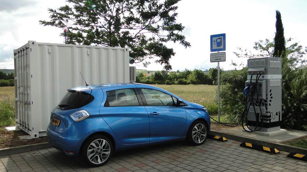 Renault E-Stor: ¿baterías usadas para recargar coches eléctricos?