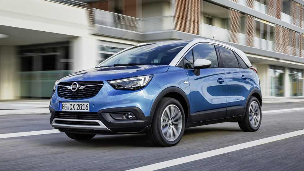 opel crossland x el nuevo suv un xito ya en ventas. Black Bedroom Furniture Sets. Home Design Ideas