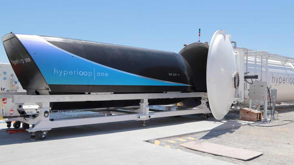 ¿Media hora de Madrid a Barcelona? Sí, con el Hyperloop de Tesla